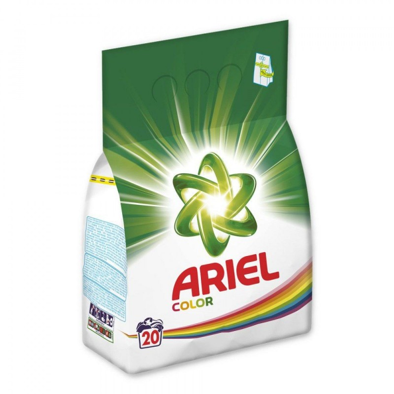 ARIEL COLOR PROSZEK DO PRANIA 1,5KG 20 PRAŃ