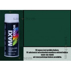 Farba SPRAY RAL 6005 ZIELONY CIEMNY maxi color MOTIP 400ML