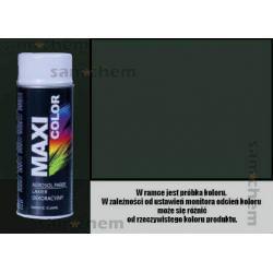 Farba SPRAY 6009 ZIELONY CIEMNY maxi color MOTIP 400ML