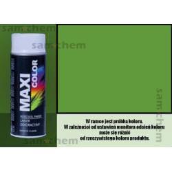 Farba SPRAY RAL: 6018 Zielony Żółty maxi color 400ML