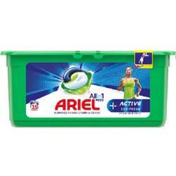 Ariel + Activ deo-fresh Kapsułki do prania białych i jasnych tkanin 25 szt