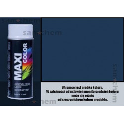 Farba SPRAY 5003 SZAFIROWY maxi color MOTIP 400ML
