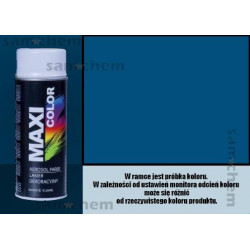 Farba SPRAY RAL: 5010 NIEBIESKI maxi color 400ML
