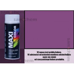 Farba SPRAY 4008 FIOLETOWY maxi color MOTIP 400ML