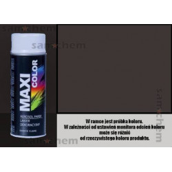 Farba SPRAY 8019 BRĄZOWY SZARY maxi color MOTIP 400ML