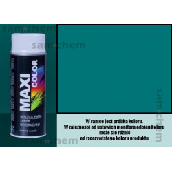 Farba SPRAY 5021 TURKUSOWY maxi color MOTIP 400ML