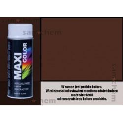 Farba SPRAY 8016 BRĄZ POŁYSK Maxi Color MOTIP 400ML