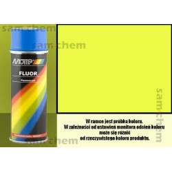 Farba SPRAY FLUO ŻÓŁTY maxi color 400ML