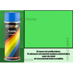 Farba SPRAY FLUO ZIELONY maxi color 400ML