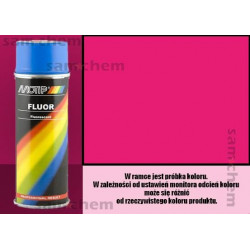 Farba SPRAY FLUO RÓŻOWY maxi color 400ML