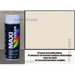 Farba SPRAY 9001 BIAŁY Maxi Color MOTIP 400ML