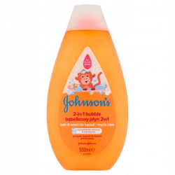 JOHNSON'S BĄBELKOWY PŁYN DO KĄPIELI 500ML