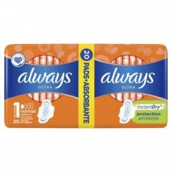 ALWAYS ULTRA NORMAL PLUS DUO PACK 20SZT