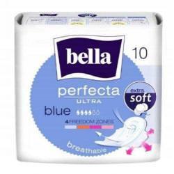 BELLA PERFECTA ULTRA BLUE ZE SKRZYDEŁKAMI 10SZT