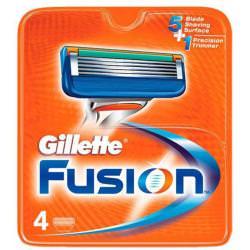 Gilette Fusion wkłady do maszynki 4 szt (zapas)