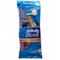 GILLETTE BLUE2 PLUS MASZYNKI DO GOLENIA 5SZT