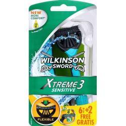 WILKINSON EXTREME3 SENSITIVE MASZYNKA 8SZT