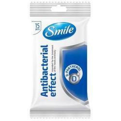 SMILE CHUSTECZKI ANTIBACTERIAL 15 SZT