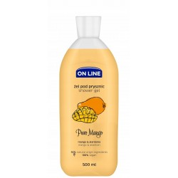 ON LINE ŻEL POD PRYSZNIC PURE MANGO 500ML