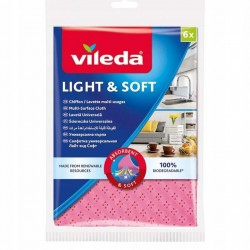 VILEDA LIGHT&SOFT ŚCIERECZKA UNIWERSALNA