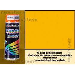 Farba SPRAY COLOR 400ML ŻÓŁTY RAL 1023