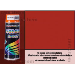 Farba SPRAY COLOR 400ML CZERWONY RAL 3000