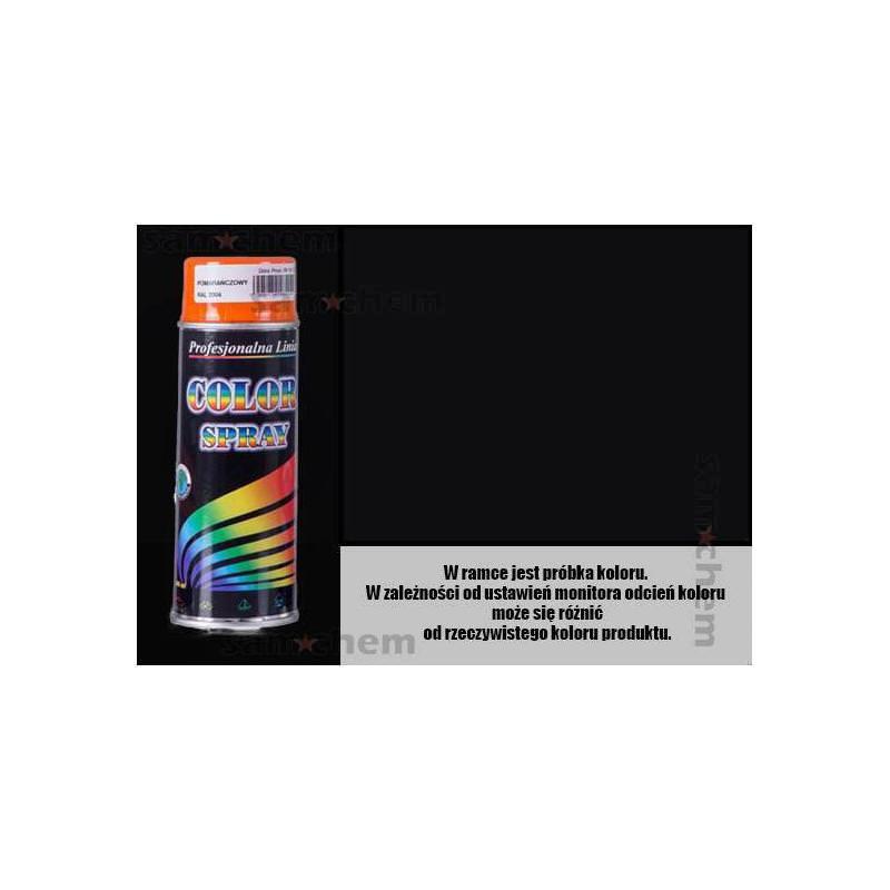Farba SPRAY COLOR 400ML CZARNY POŁYSK
