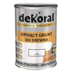 GRUNTOMAL 5L – DEKORAL ftalowy grunt do drewna