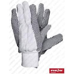 Rękawice robocze nakrapiane