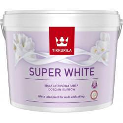 Tikkurila Super White 2,5L – ELEGANCKA BIEL