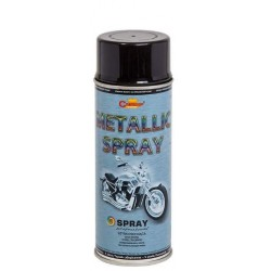 SPRAY METALLIC 400ML CZARNY