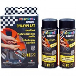 MOTIP SPRAYPLAST 2 x 400ml ANTRACYT