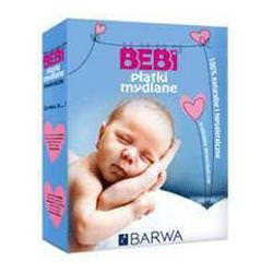 BEBI - Płatki mydlane do prania bielizny i ubranek dziecięcych 200g BARWA
