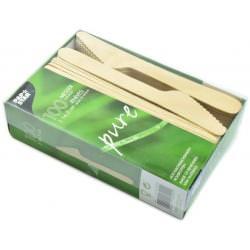 nóż drewniany 100 szt
