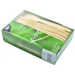 widelec drewniany 16,5 cm 100 szt