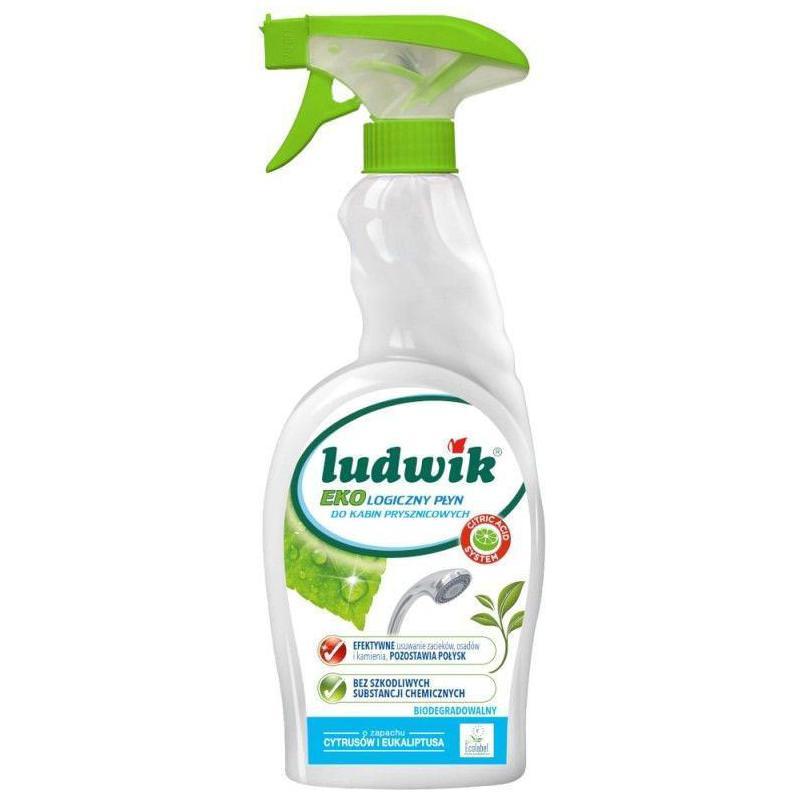 Ekologiczny płyn do kabin prysznicowych o zapachu cytrusów i eukaliptusa Biodegradowalny