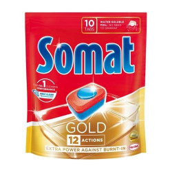Tabletki do zmywarki SOMAT GOLD 12 Actions 10 szt