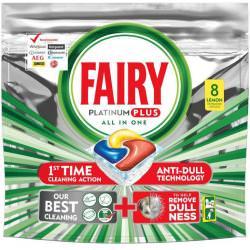 Tabletki do zmywarki FAIRY Platinum PLUS All In One Lemon 8 Szt