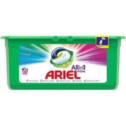Ariel Kapsułki do prania tkanin kolorowych 28 szt
