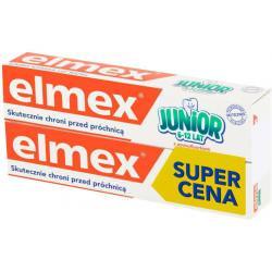 elmex Junior Pasta do zębów z fluorem 6-12 lat 2 x 75 ml