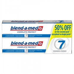 Blend-a-med Protect 7 Crystal White Pasta do zębów 2x100 ml
