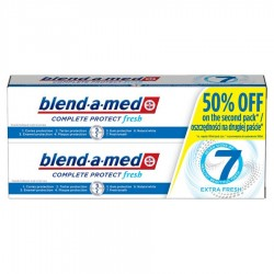 Blend-a-med Complete Protect 7 Extra Fresh Pasta do zębów 2x100 ml