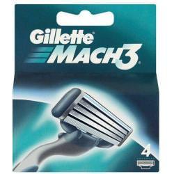 Gillette Mach 3 wkłady do maszynki 4 szt