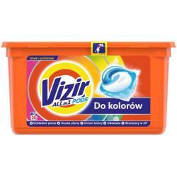 Vizir Color Kapsułki do prania, działanie Allin1 38 prań