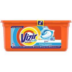 Vizir Touch Of Lenor Kapsułki do prania działanie Allin1 28 prań
