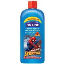 On Line Disney Spider Man Płyn do kąpieli i żel pod prysznic 2w1 400ml