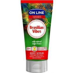 ON Line Senses - PEELING do ciała BRASILIAN VIBES 200ml