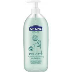 ON LINE DELICATE płyn do higieny intymnej z ekstraktem z nagietka 500 ml
