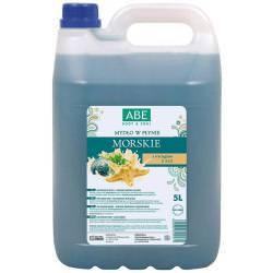ABE Mydło w płynie morskie algi 5l