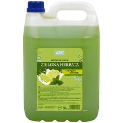 ABE Mydło w płynie Zielona herbata 5L